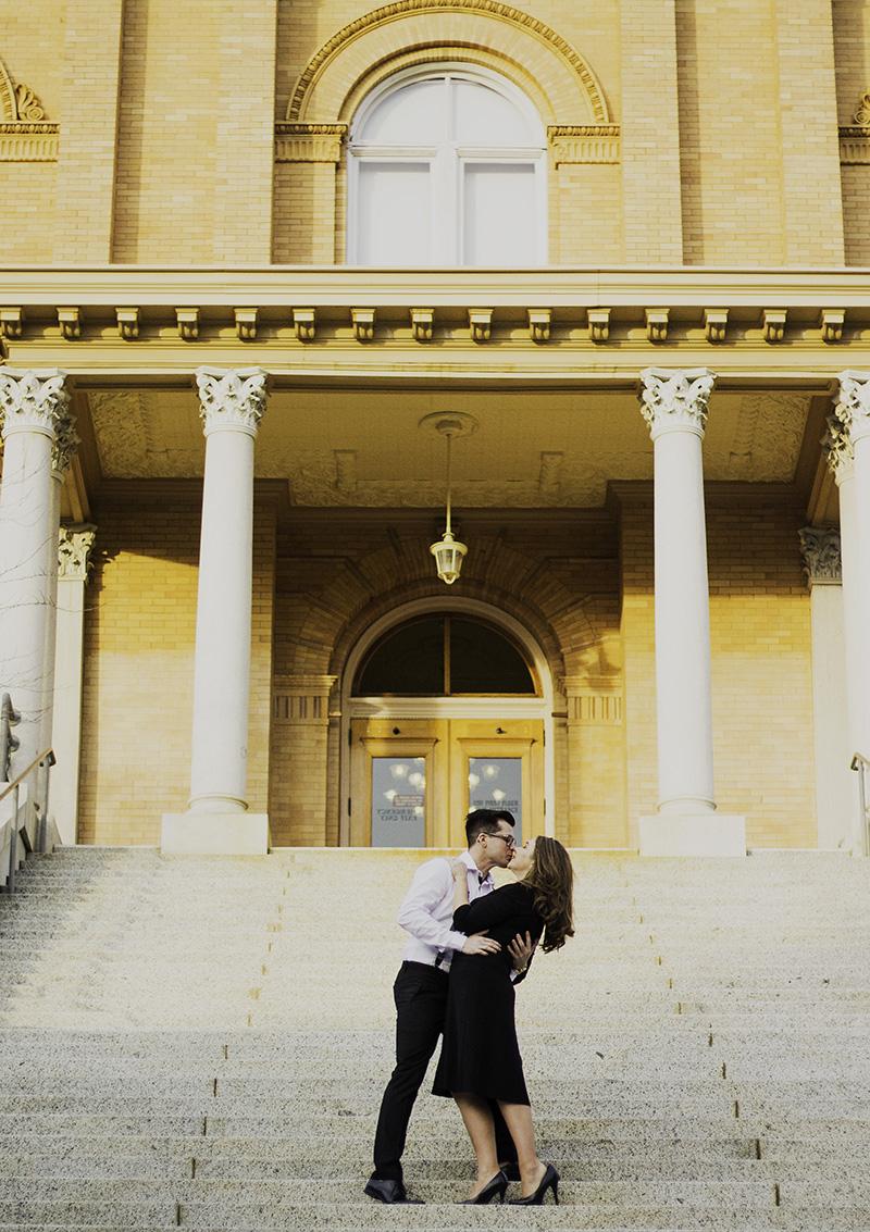 Auburn courthouse wedding