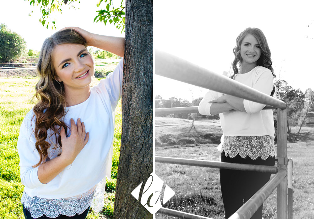 auburn california senior session