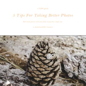 5 tips for taking better photos