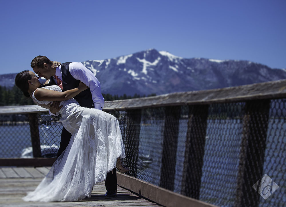South tahoe wedding